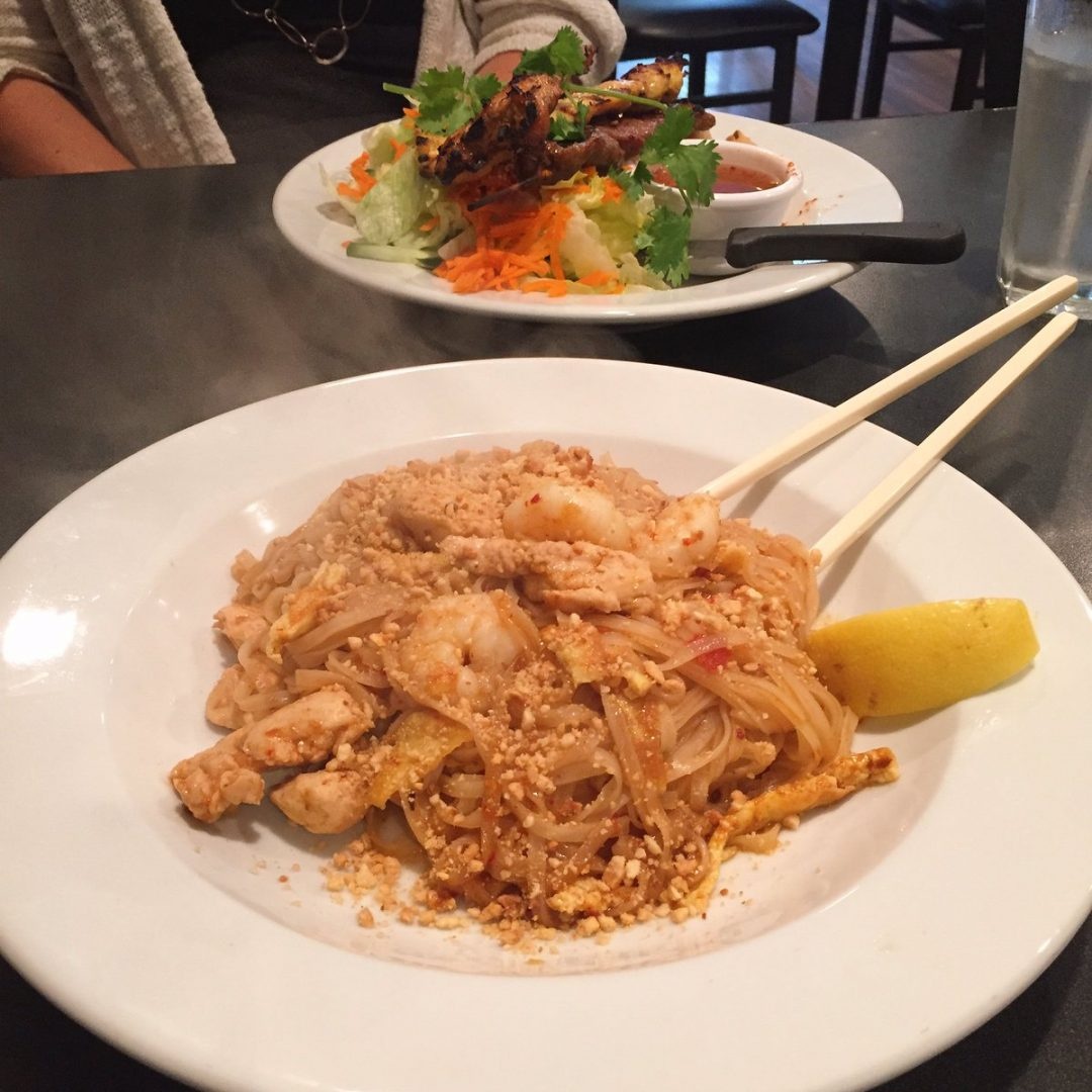 Chicken and Shrimp Pad Thai (@seanfromsylvan)